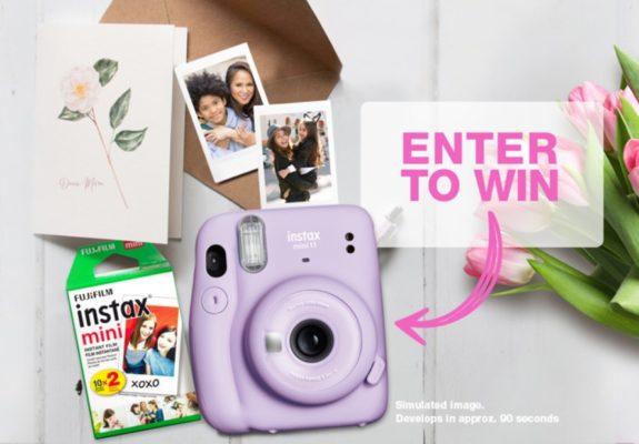 Fuji Film Contest : Win an INSTAX MINI 11 Camera Prize