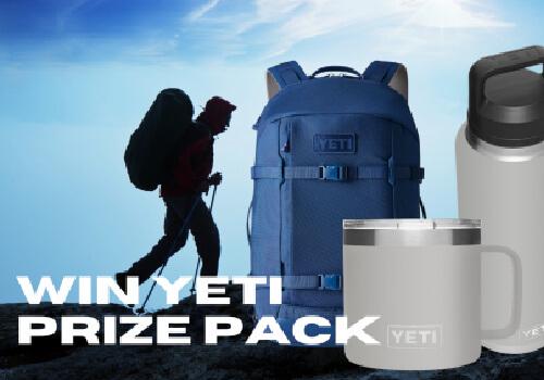 Mountain Life Yeti Prize pack