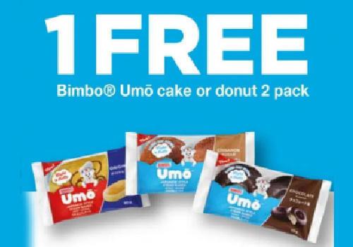 Umo free doughnut