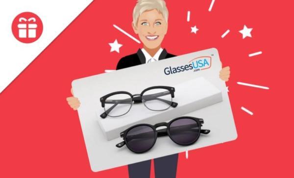 Ellen's Contest Win Glasses USA Gift Card