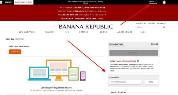 Banana Republic Canada Promo Code, Banana Republic Promo Code Canada – Save  40 off Coupon