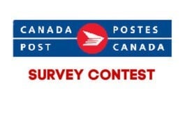 Canada Post Survey Contest