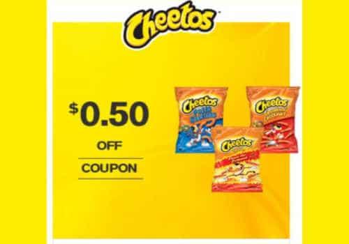 Cheetos Coupon – Save $0.50 (Printable)