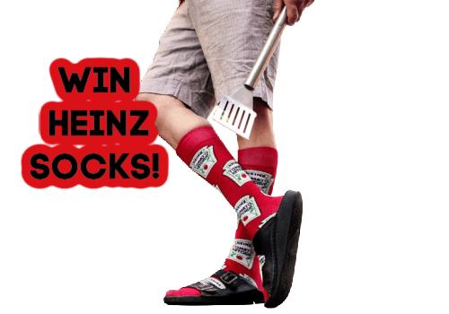 Heinz Contest: Win Heinz Socks -HURRY!
