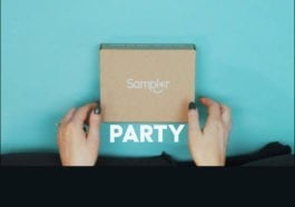 Sampler Party Time announcement