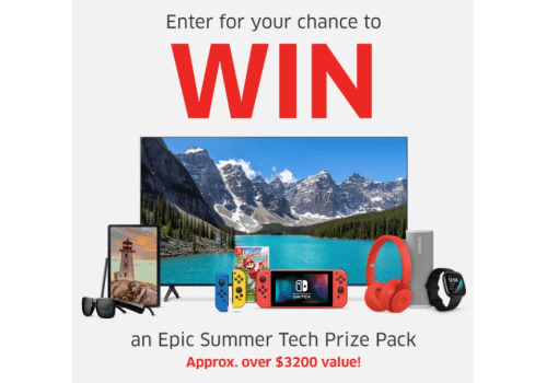 The Source Contest: WIN an Epic Summer Tech Prize Pack