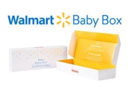 , Walmart Canada Free Baby Box with Registry