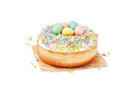 Tim Hortons Cadbury Egg Donut