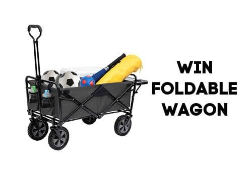 Win a Foldable Wagon
