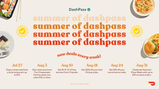 Door Dash Pass