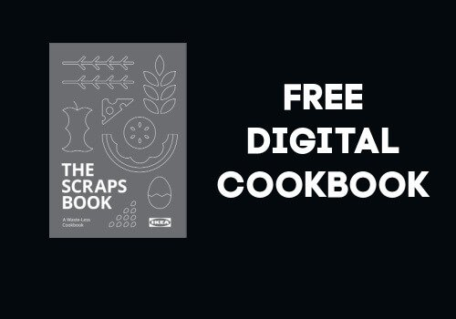 Ikea The Scrap's Book Free Digital Cookbook from Ikea
