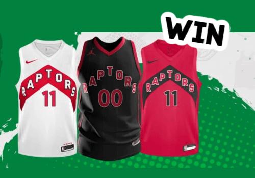 Jamieson Vitamins Contest: Win a Toronto Raptors Jersey