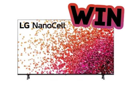 LG Contest: WIN a Nanocell 65 inch 4K Smart TV