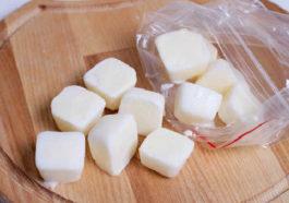 Thaw frozen milk