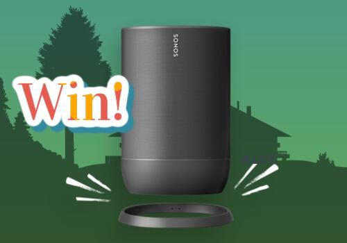 Warner Music Contest: Win a Sonos Move smart speaker