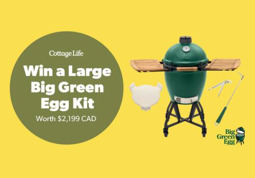 Win Large big egg kit from Cottage Life Magazine
