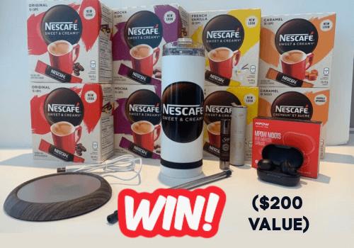 Nescafe Canada Contest: WIN a Nescafé prize valued at $200