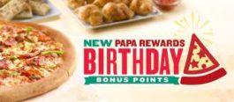Papa John Birthday Special