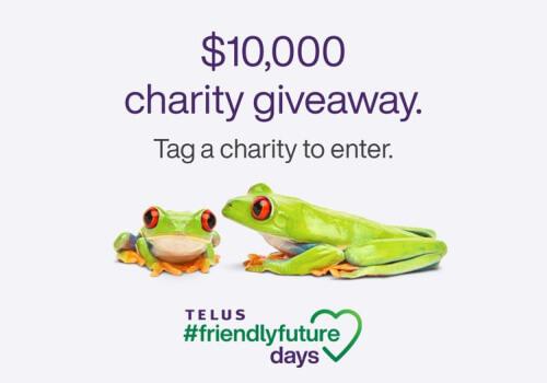 Telus Charity Giveaway