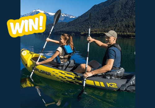 Chicken Canada Contest: Win a 2-Person Kayak and Igloo Cooler