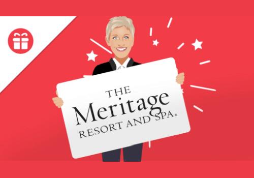 Ellen DeGeneres Contest: Win a 2-Night Stay at a Resort & Spa