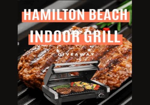 Hamilton Beach Contest: WIN a Hamilton Beach Indoor Grill