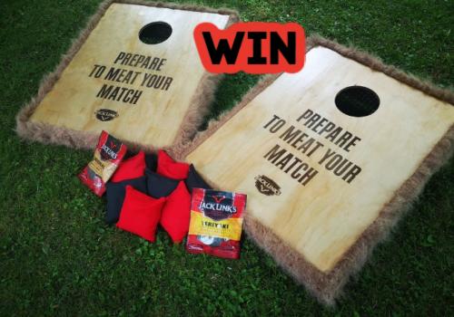 Jack Links Contest: Win a Jack Links Cornhole Game