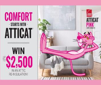 Owens Corning Contest: WIN a $2500 attic re-insulation