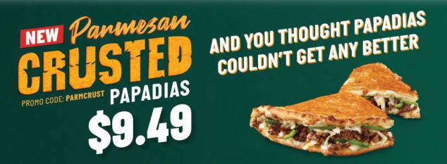 Papa John Crust Pizza coupon code