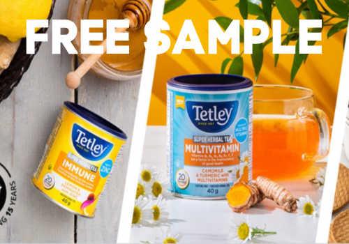 Tetley Tea Free Sample Opportunity -Go!