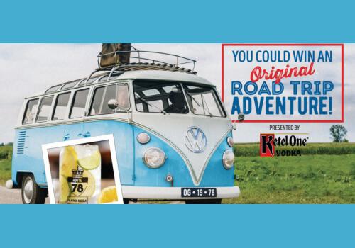 Kelsey road trip logo commercial road trip adventrure