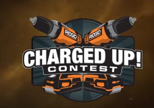 Ridgid Charged up contest logo