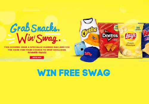 Tasty Rewards Grab Snacks Win Swag Contest
