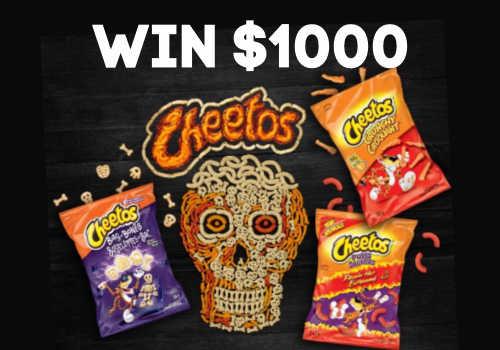 Cheetos Contest: WIN $1000 CASH