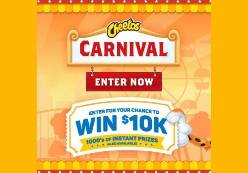 Cheetos Contest: WIN $10,000 CASH PLUS Instant Prizes