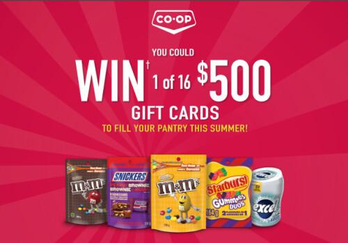 M&M Coop contest