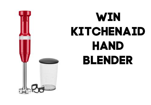 Kitchenaid hand blender contest