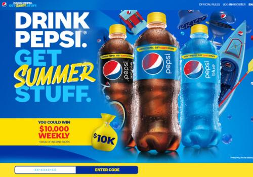 Pepsi contest- Summer fun Contest