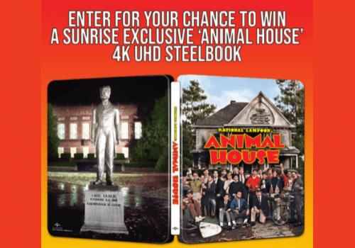 Sunrise Records Contest: WIN an Animal House 4k UHD Steelbook