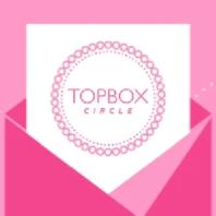 canaian topbox circle logo found on social media