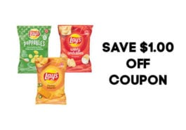 Lays Coupon for $1.00 off