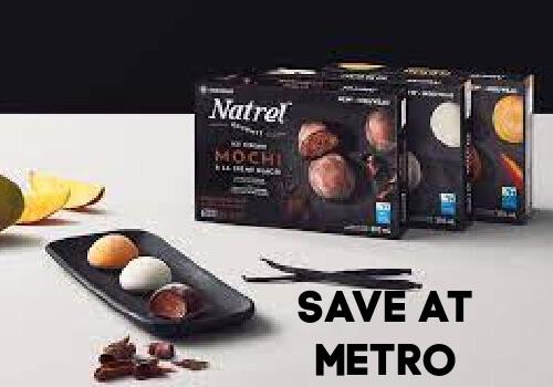 Natrel Mochi at Metro Save $2.00 with coupon
