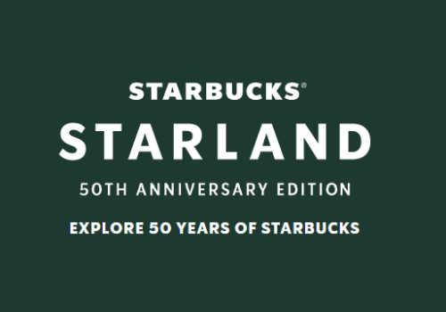 Starbucks Starlands 50th Anniversary Contest