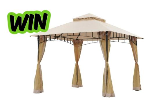 Aosom Giveaway: Win an Outdoor Gazebo Canopy