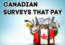 Canadian Surveys that pay