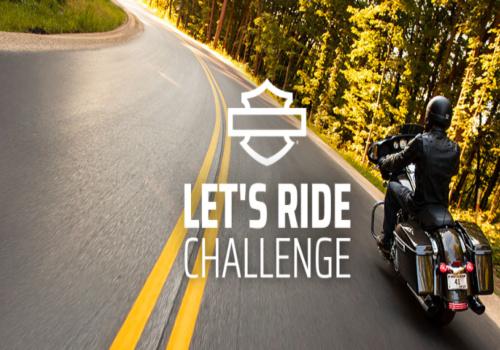 Harley Davidson Contest: Lets Ride Challenge