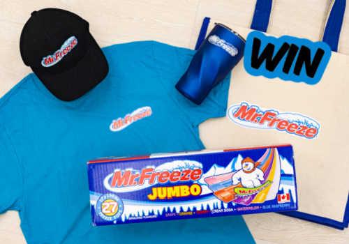 Kisko Freezies Contest: Win a MEGA Kisko Prize Pack
