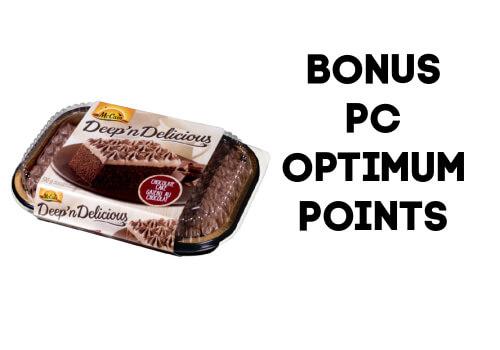 McCain Cake Optimum points