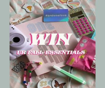 Ardene Contest: Win Fall Essentials Prize