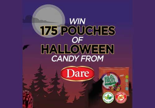Dare Foods HALLOWEEN Contest: Win REALFRUIT MINIS gummies